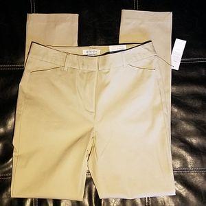 New Liz Claiborne EMMA Khaki Pants Sz 6